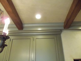 Custom beams and crown alt view