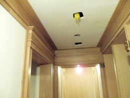 Custom jamb casing and crown molding alt view