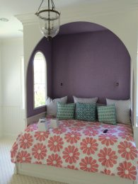 Girl's bed good enough for a princess - Pacific Palisades residence