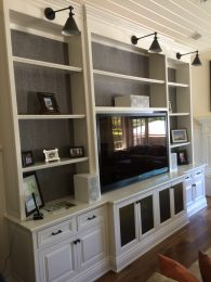 T.V cabinet with storage