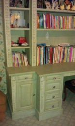 Hand painted kids desk