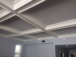 Coffered Ceiling at San Marino residence